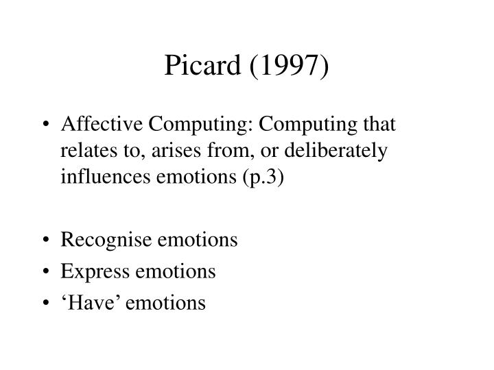 Picard 1997