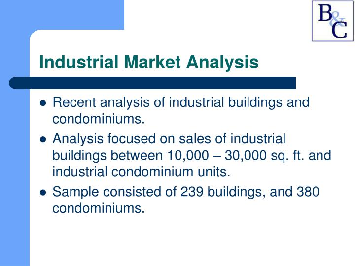 Industrial Market Analysis