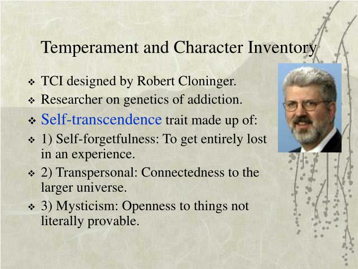 Temperament and Character Inventory