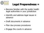 legal preparedness1