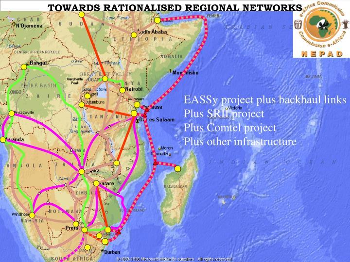TOWARDS RATIONALISED REGIONAL NETWORKS