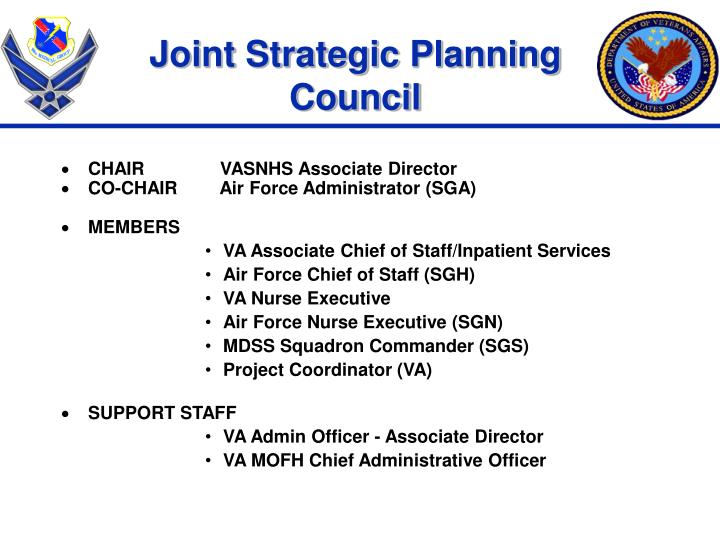 Joint Strategic Planning Council