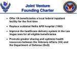 joint venture founding charter