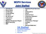 mofh services joint staffed