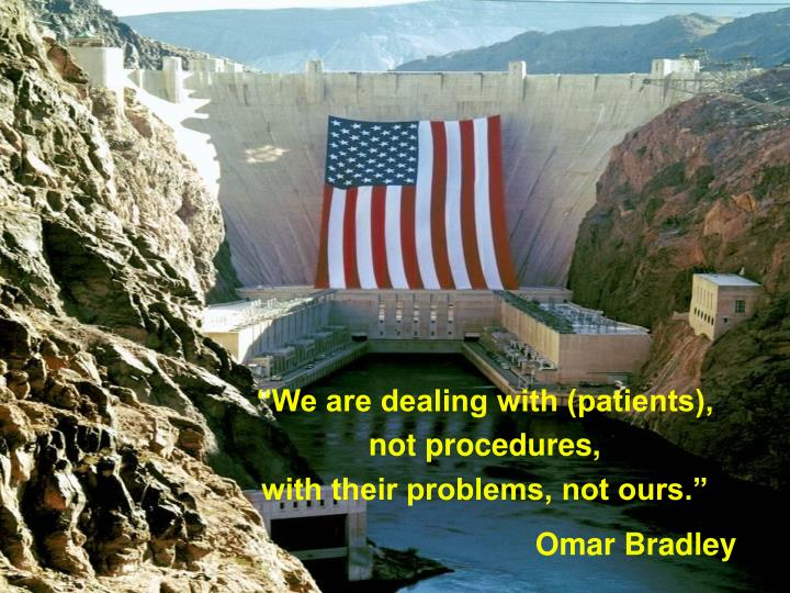 """""""We are dealing with (patients),"""