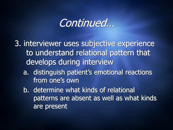object relations theory case conceptualization Processing the therapeutic relationship the therapist develops a case formulation of the object relations theory.