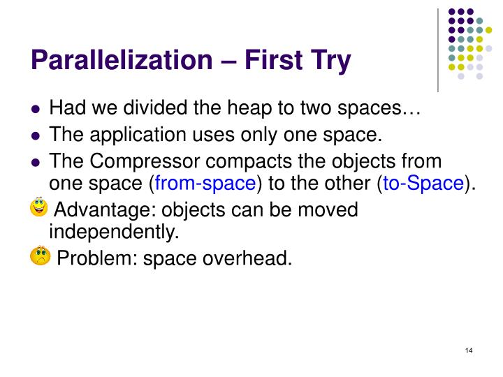 Parallelization – First Try