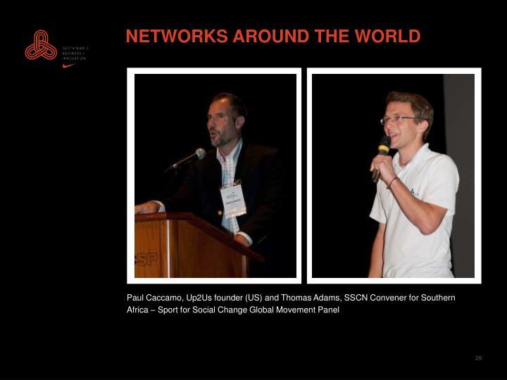 NETWORKS AROUND THE WORLD