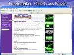 puzzlemaker criss cross puzzle