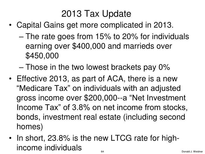 2013 Tax Update