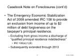 casebook note on foreclosures cont d1