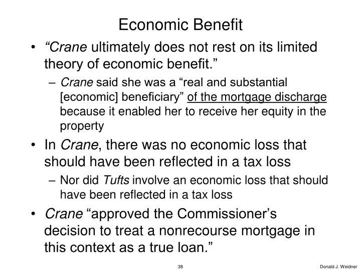 Economic Benefit