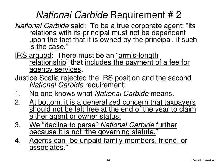 National Carbide