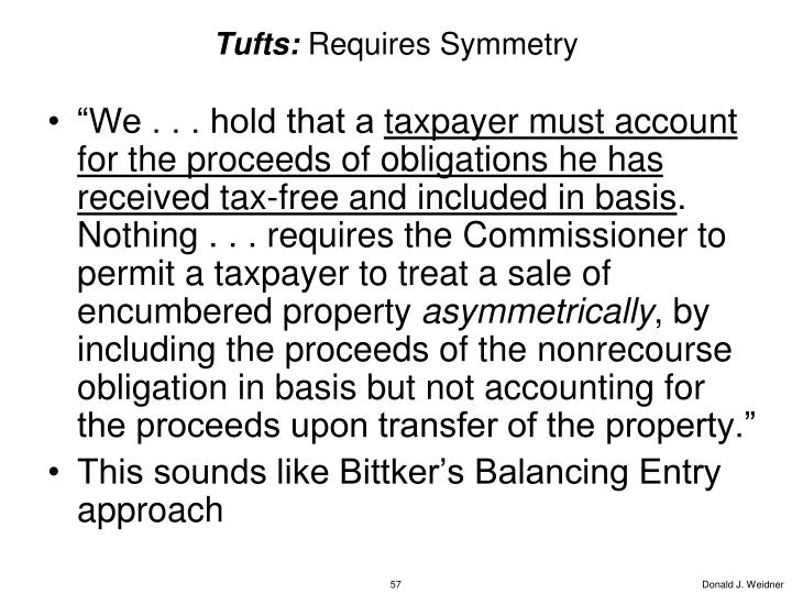 Tufts: