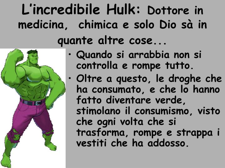 L'incredibile Hulk: