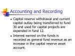 accounting and recording4