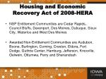 housing and economic recovery act of 2008 hera3