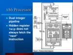 x86 processor