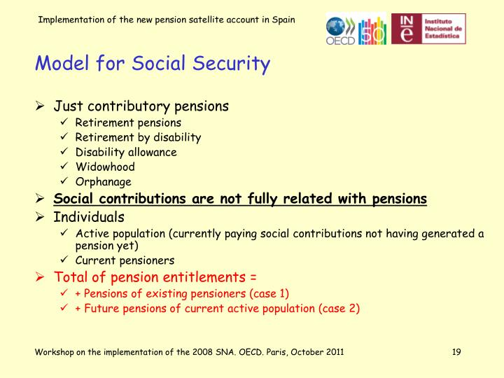 Model for Social Security