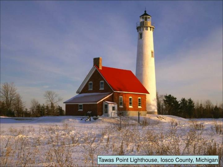 Tawas Point Lighthouse, Iosco County, Michigan