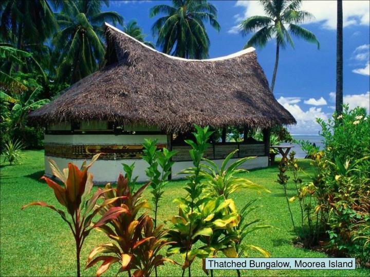 Thatched Bungalow, Moorea Island