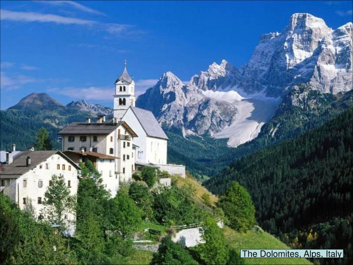 The Dolomites, Alps, Italy