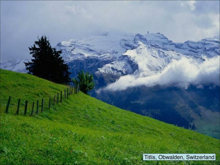 Titlis, Obwalden, Switzerland
