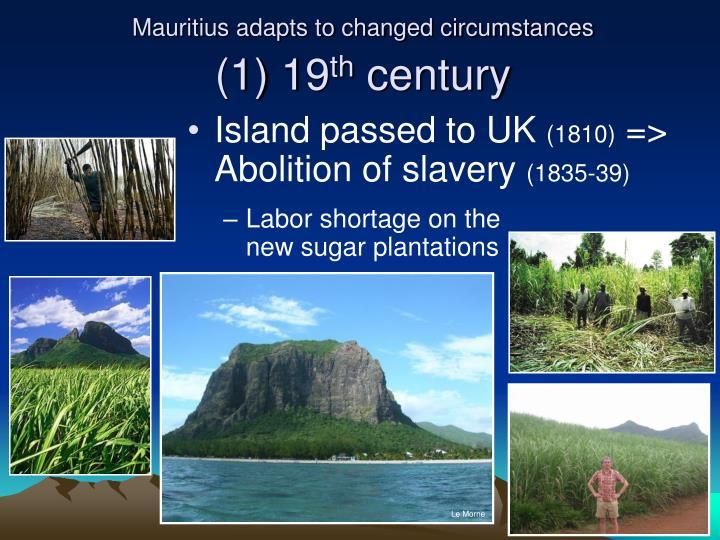 Mauritius adapts to changed circumstances