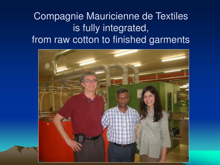 Compagnie Mauricienne de Textiles