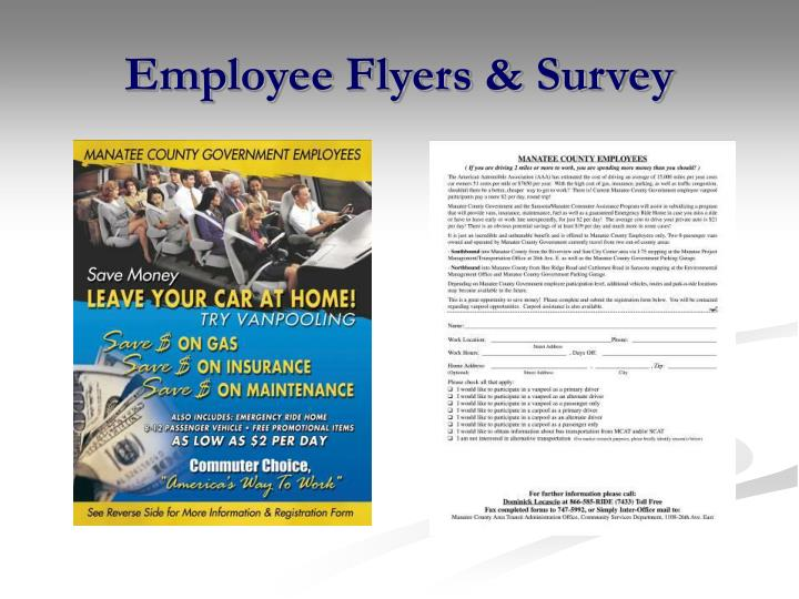 Employee Flyers & Survey