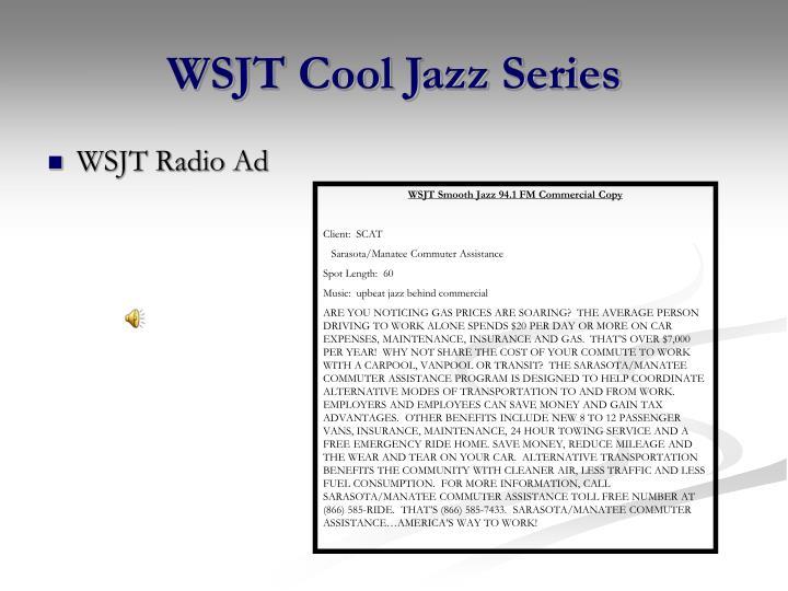 WSJT Cool Jazz Series