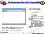 baf automation of the rcip navigator barn