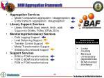 bom aggregation framework