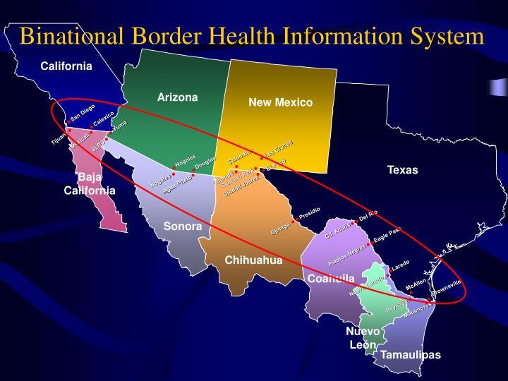 Binational Border Health Information System