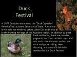 duck festival
