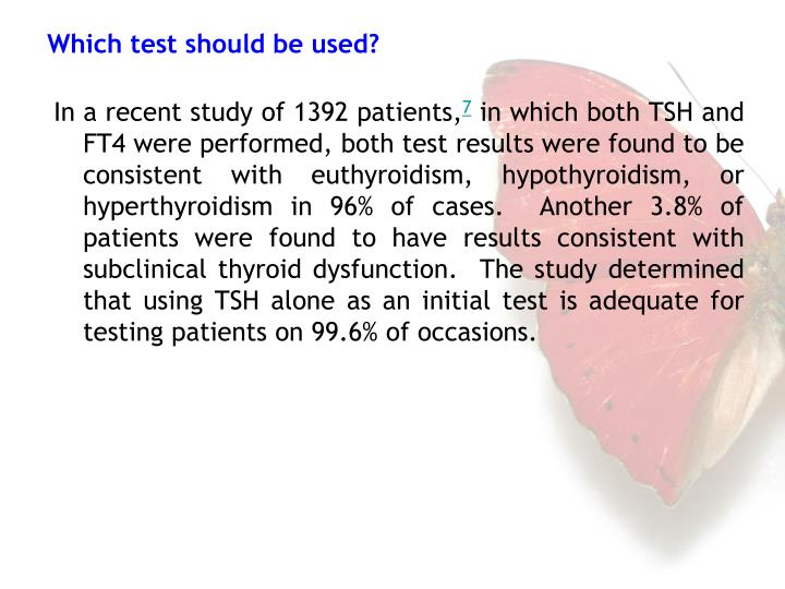 In a recent study of 1392 patients,