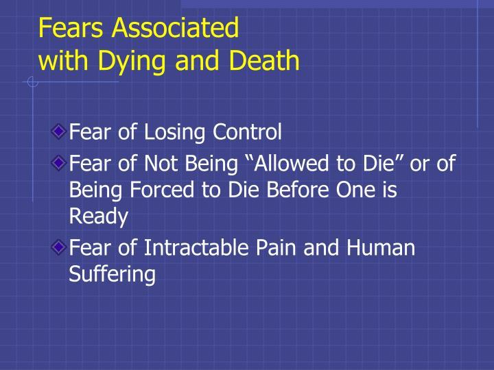 Fears Associated