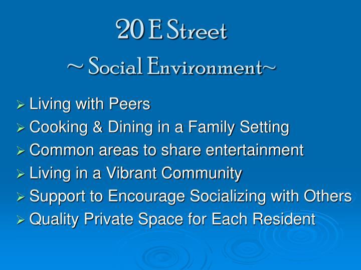 20 E Street