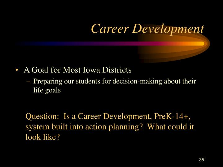 A Goal for Most Iowa Districts