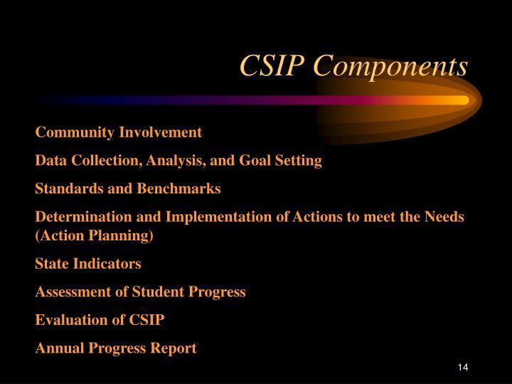 CSIP Components