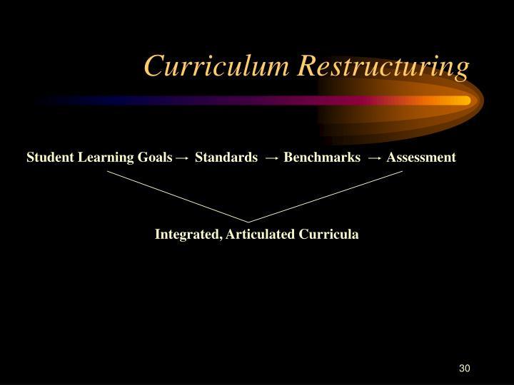 Curriculum Restructuring