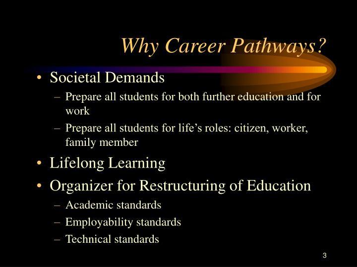 Why Career Pathways?