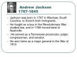 andrew jackson 1767 1845