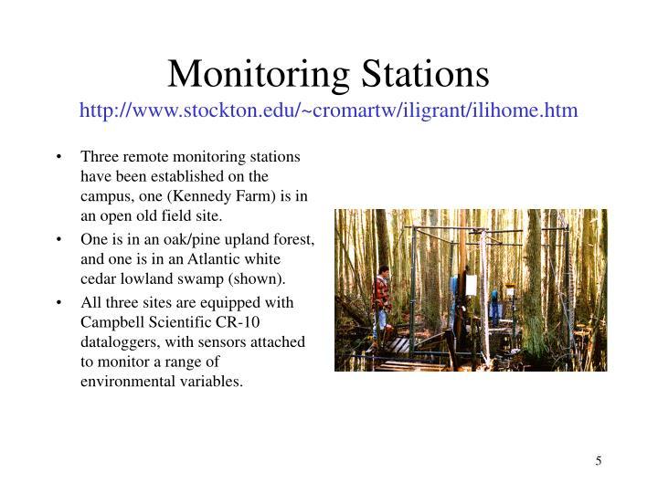 Monitoring Stations