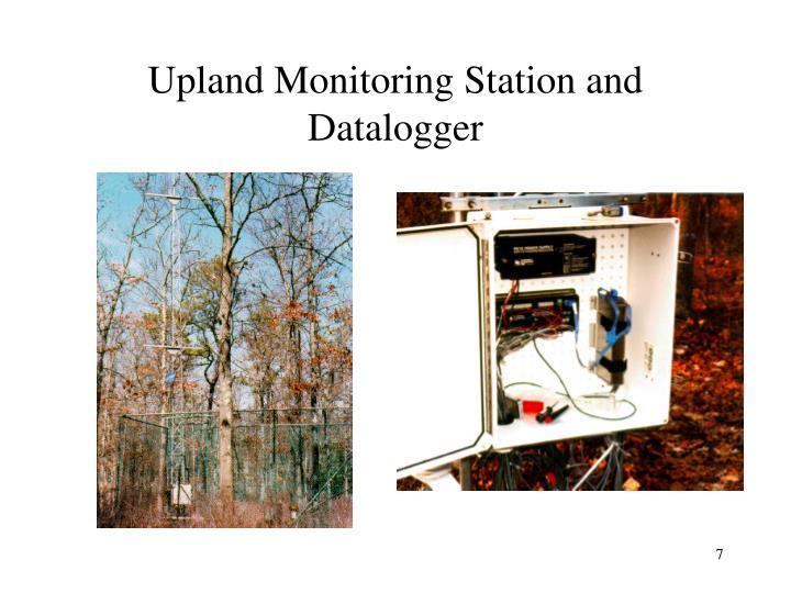Upland Monitoring Station and Datalogger