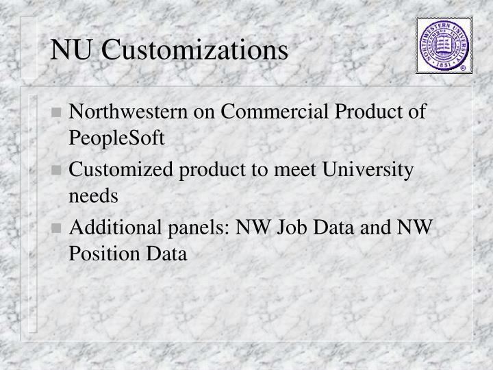 NU Customizations