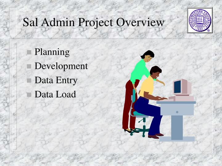 Sal Admin Project Overview