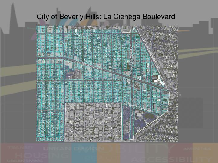 City of Beverly Hills: La Cienega Boulevard
