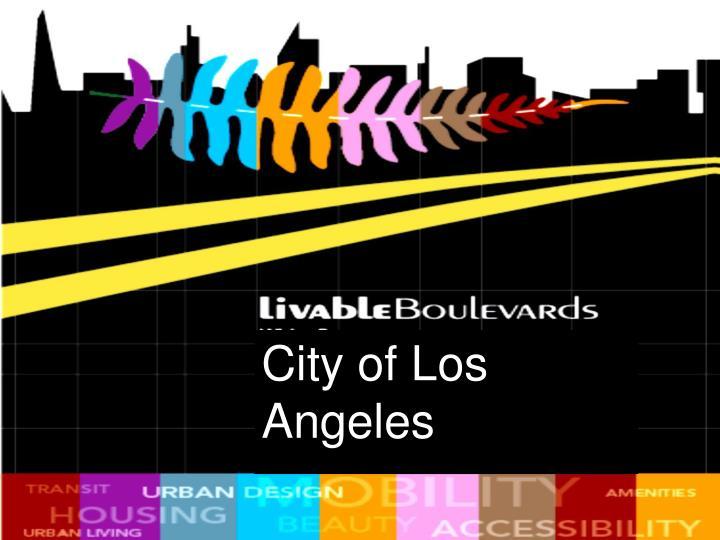 City of Los Angeles