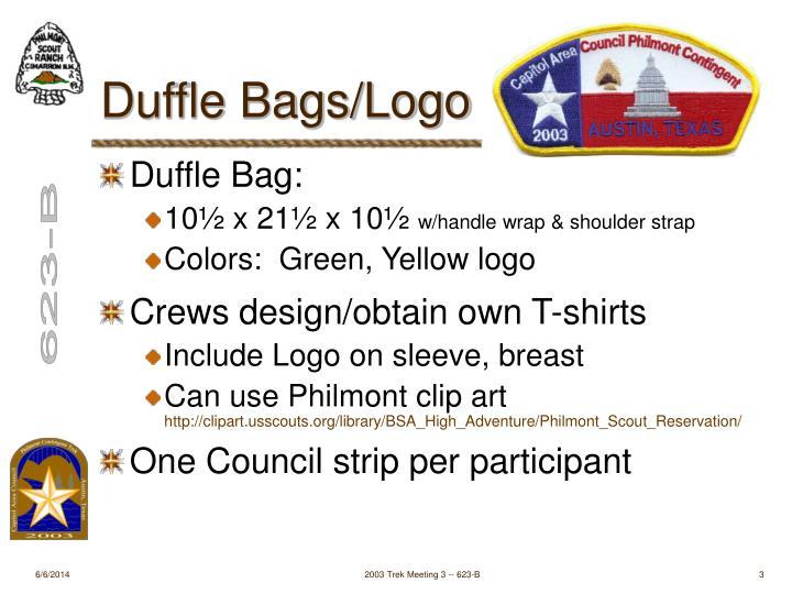 Duffle Bags/Logo